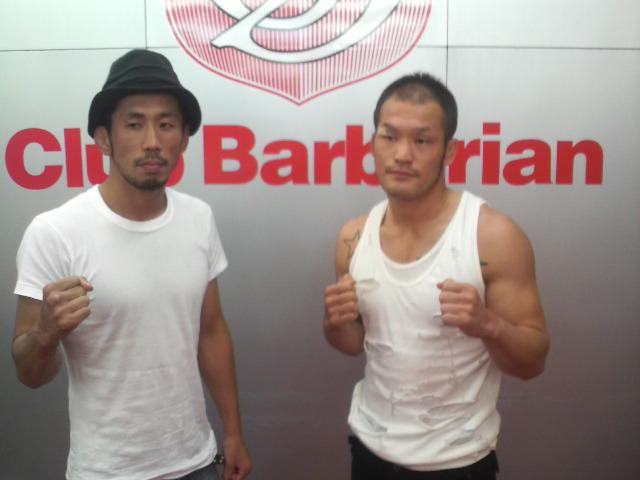 Barbaro44(クラブバーバリアン)  伊藤崇文(パンクラスism)